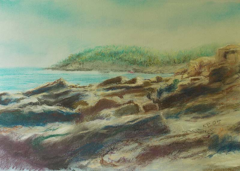 Bar Harbor Pastel