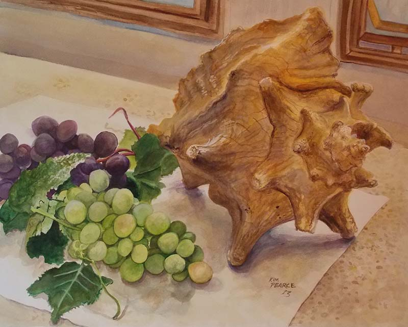 Grapes and Seashells