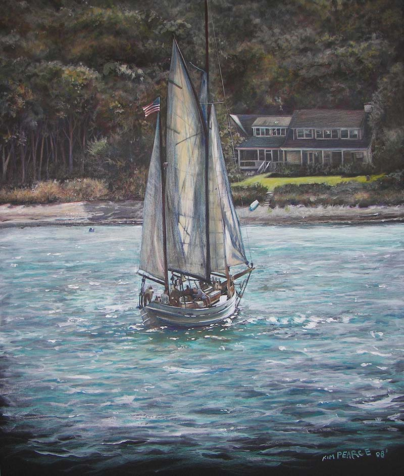 Sailboat Acrylic
