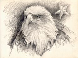 Eagle Head Pencil