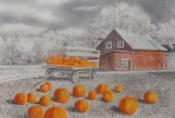Harvest Time Pencil Color Pencil